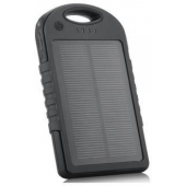 Powerbank Solar Charger 5000 mAh Zwart